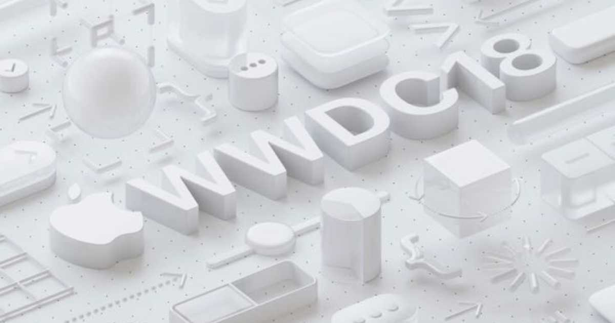 WWDC 2018 基調講演の開催日時は6月5日の午前2時。