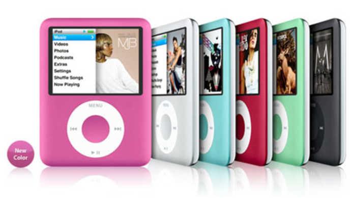 第3世代iPod nanoに新色「ピンク」が降臨す。