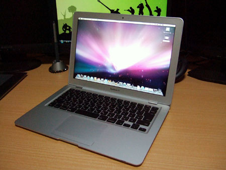 これがMacBook Airのデスクトップ